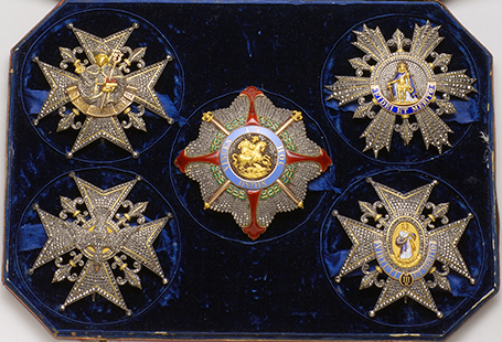 Jewel case of the House of Bourbon-Two Sicilies – Carlo Landriani, Naples, first half of the 19th century
