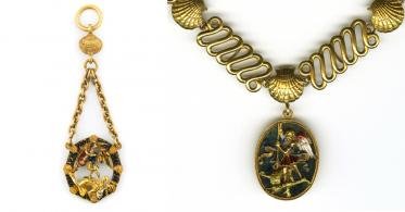 Collier et médaille de l'ordre de Saint-Michel