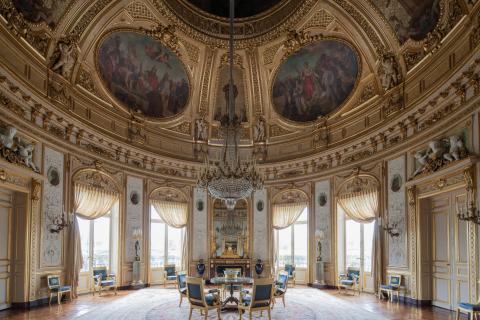 Journ es europ ennes du patrimoine le palais de la for Salon d honneur grand palais